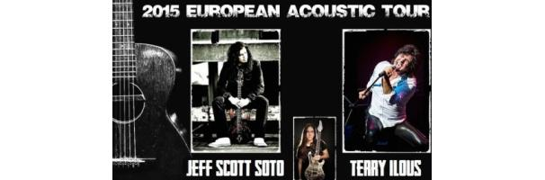 Jeff Scott Soto & Terry Ilous avec Jorge Salan  - Vauréal (France), Le Forum february the 17th 2015